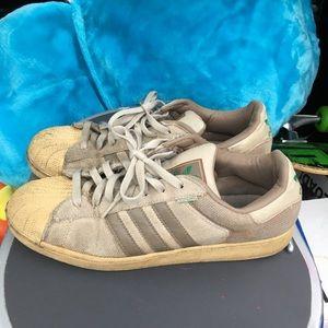 Grey Hemp Adidas Superstar